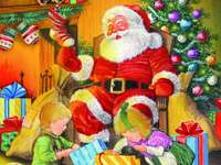 IN CHRISTMAS - This puzzle is from Santa Claus