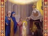 Vstup do kostela Matky Boží