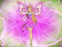 Winx Club: Flora's redesigned Enchantix