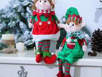 elves on the dresser
