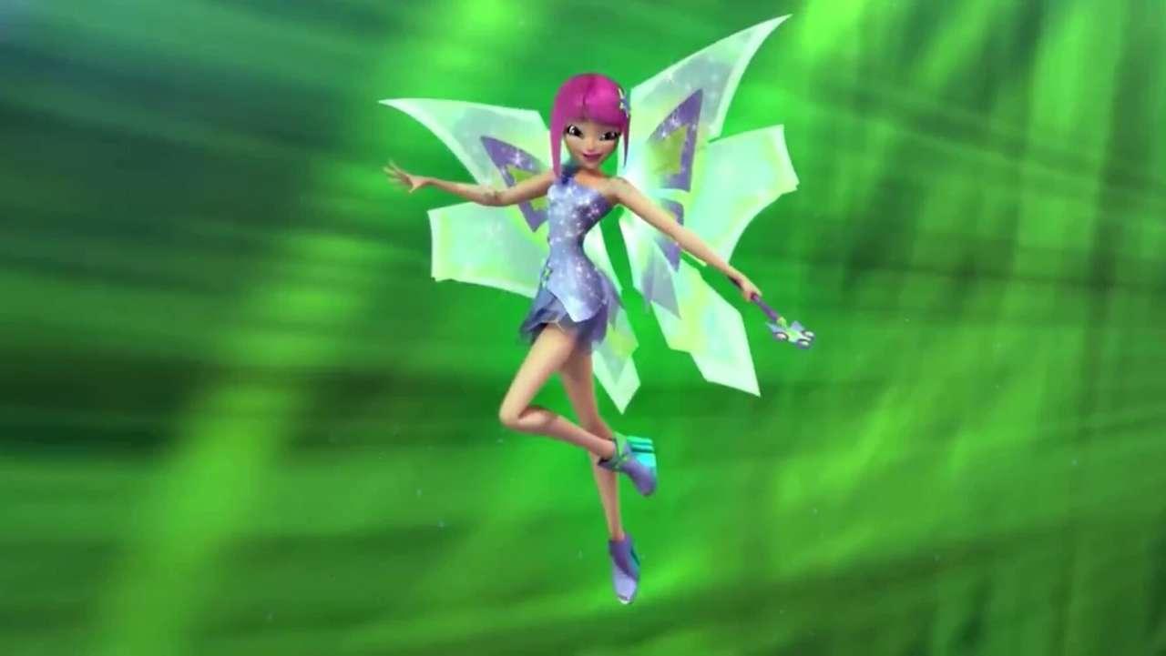 Winx Club | Tecnas Mythos - Winx Club Puzzle | Tecnas Mythix | Tecna-Fee der Technologie (5×3)