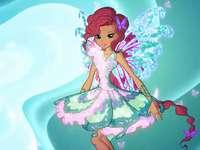 Klub Winx | Butterflix Aishy - Winx Club Puzzle | Aisha's Butterflix | Aisha wróżka fal