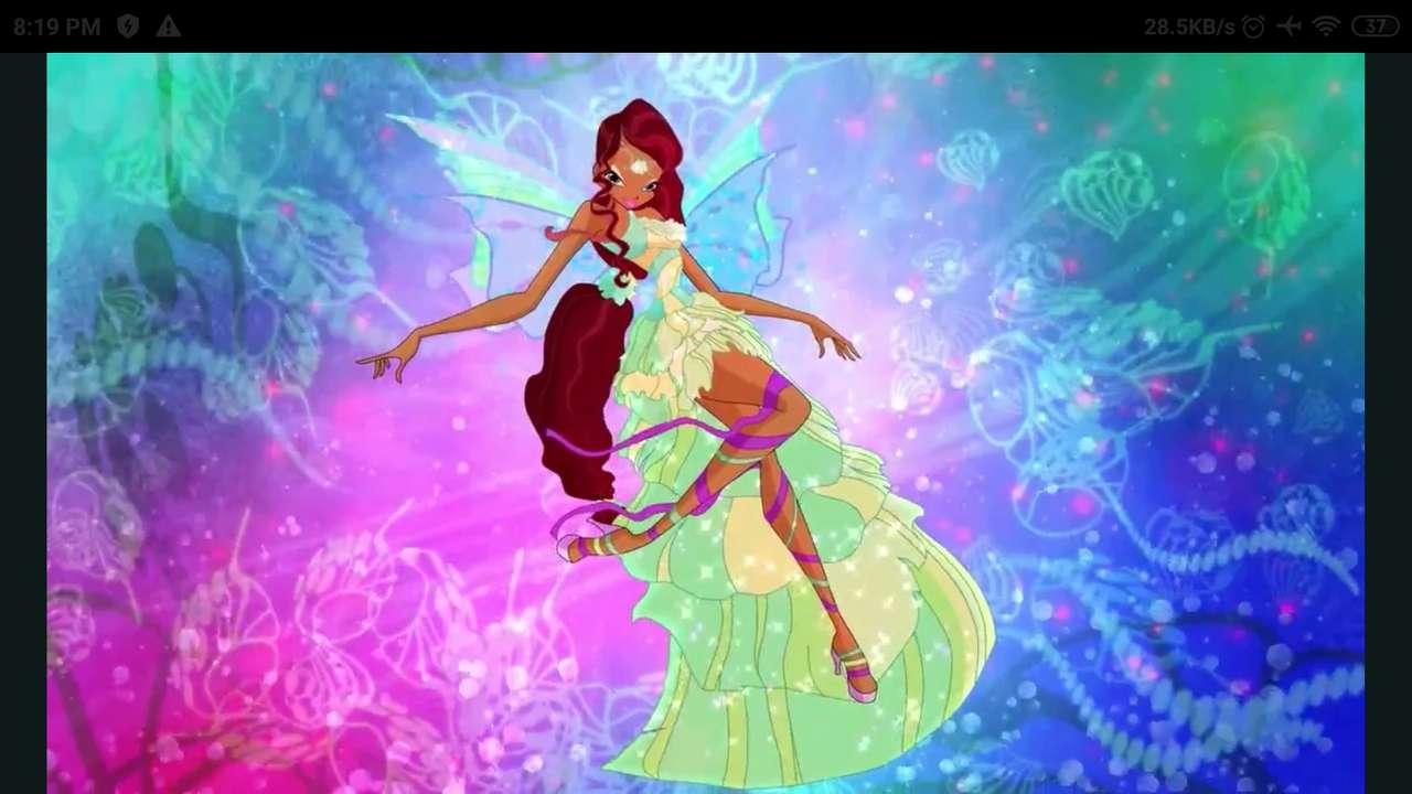Winx Club Aishas Harmonix - Winx Club Puzzle | Aishas Harmonix | Aisha Fee der Wellen (5×3)