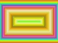 koncentryczne ramki - koncentryczne ramy utworzone za pomocą farby