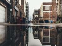 záplava fotografie vody - Sioux Falls, Spojené státy