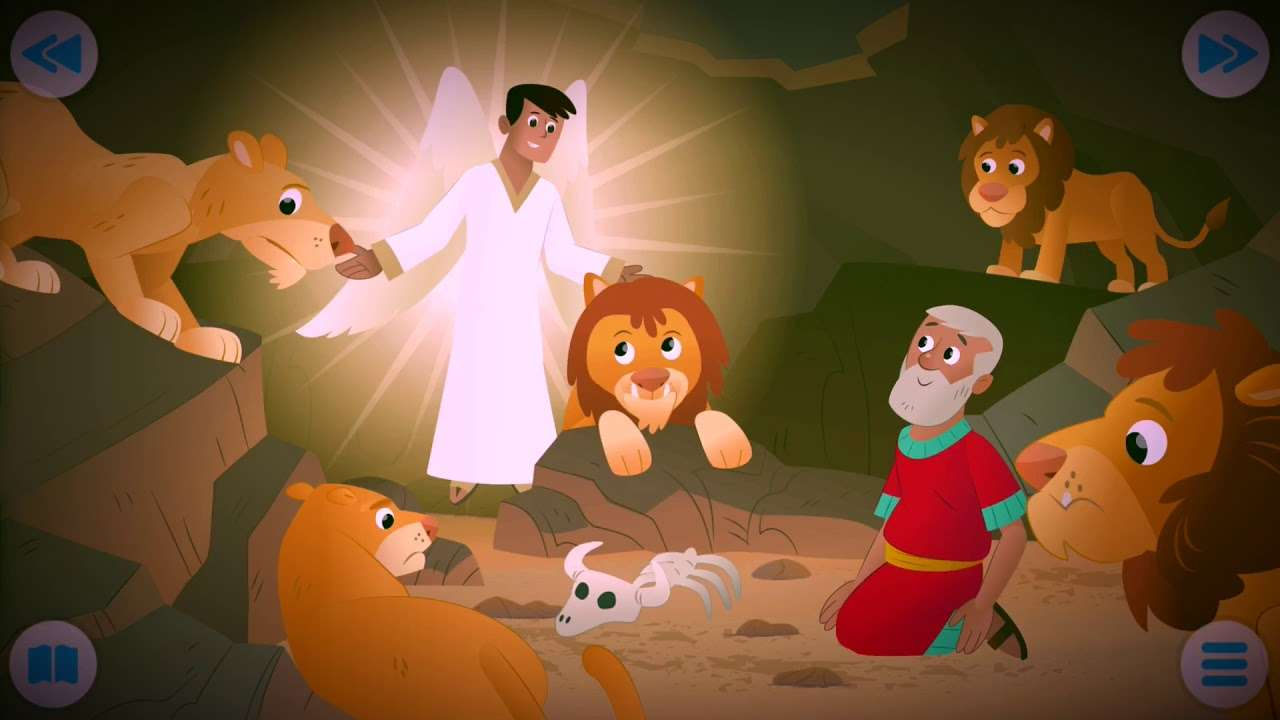 DANIEL IN THE LIONS 'DEN