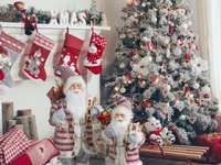 Christmas presents - festive christmas decorations