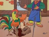 La poule marbrée