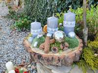holidays in the garden - Christmas garden decorations