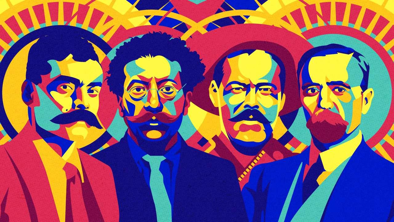 Meksykańska rewolucja - Rewolucyjne postacie (5×3)
