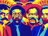 Meksykańska rewolucja - Rewolucyjne postacie