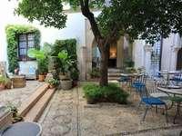 Cordoba Innenhof Stadt in Spanien