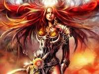 Warrior queen - Women have power too