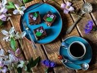 Cafea și biscuiți, flori - Cafea și biscuiți, flori ......