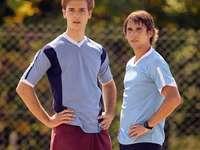 Gabriel și Felipe cu - Gabriel și Felipe din serialul TV Eleven
