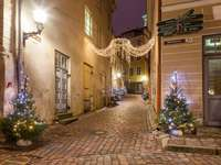 Christmas alley - Christmas little street