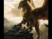 Gripping force - The griffin is an amazing creature, he's a cross between an eagle and a lion