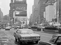 Πλατεία ώρας - Αυτή είναι μια φωτογραφία New York City Time Square από το έτος 1971.