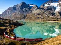 tren- Bernina Express