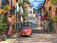 Case cu flori - Case cu flori, stradă ......