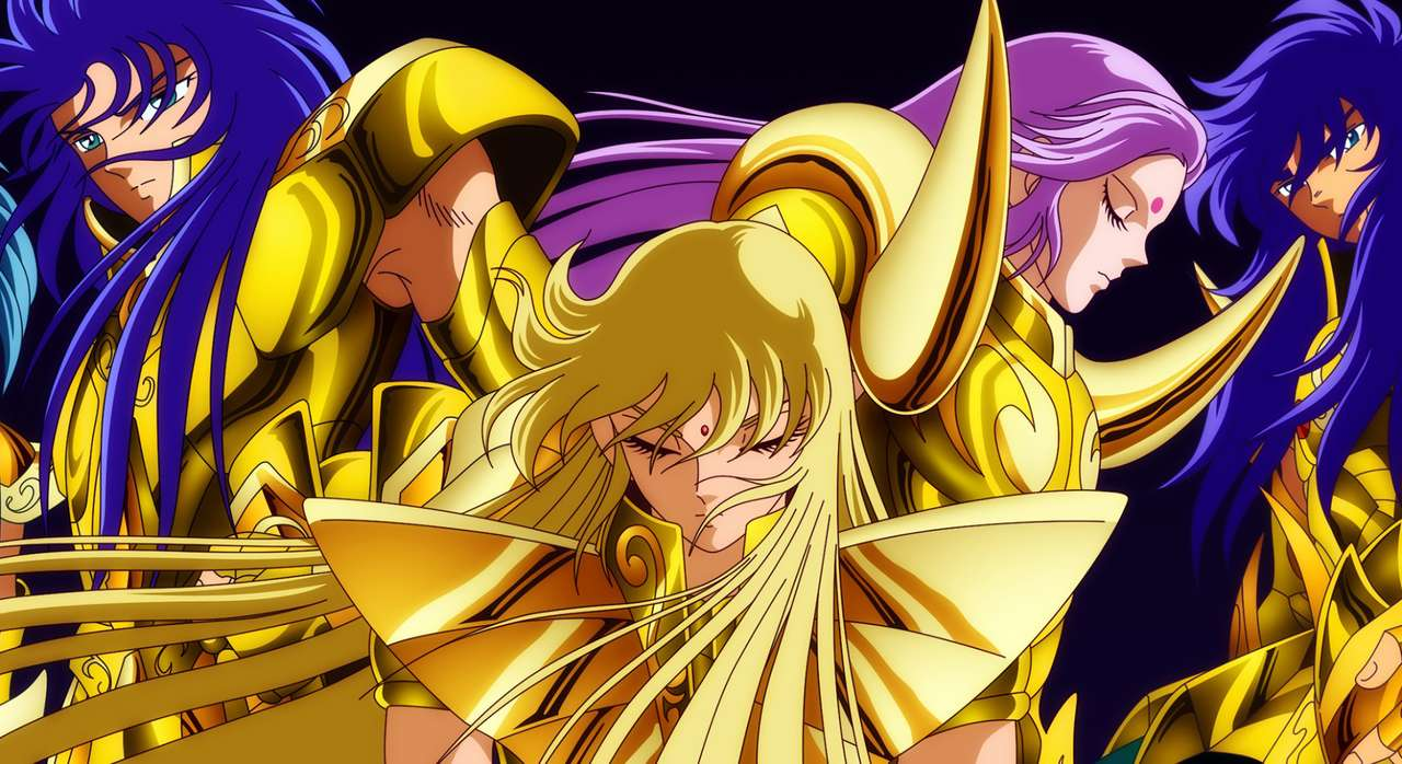 Άγιος Σεϊγιά Χρυσός - Saint Seiya, Golden Knights Milo Mu Shaka Saga (14×8)