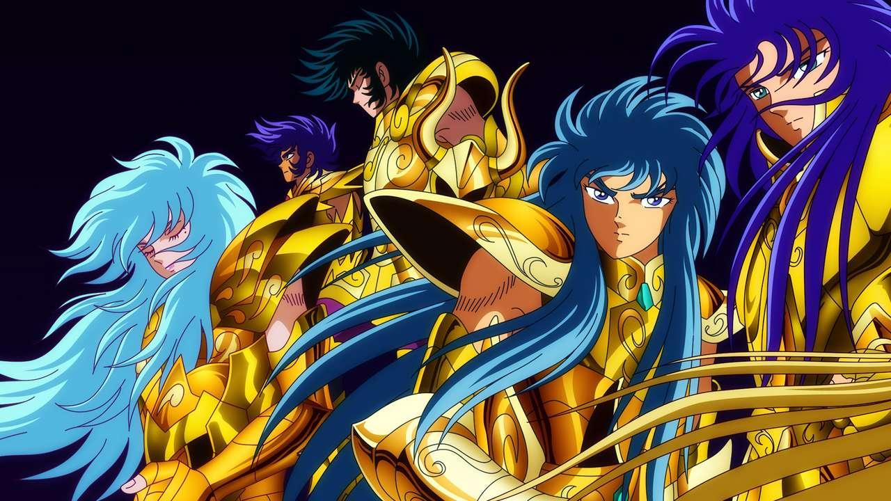 Saint Seiya Gold - Saint Seiya Gold Saga Camus Afrodite Máscara Mortal Shura (14×8)