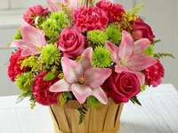 flower arrangement - m .......................