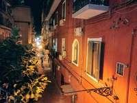 Nápoly utcája, Olaszország - Chiaja kerület - San Ferdinando Nápoly Olaszország