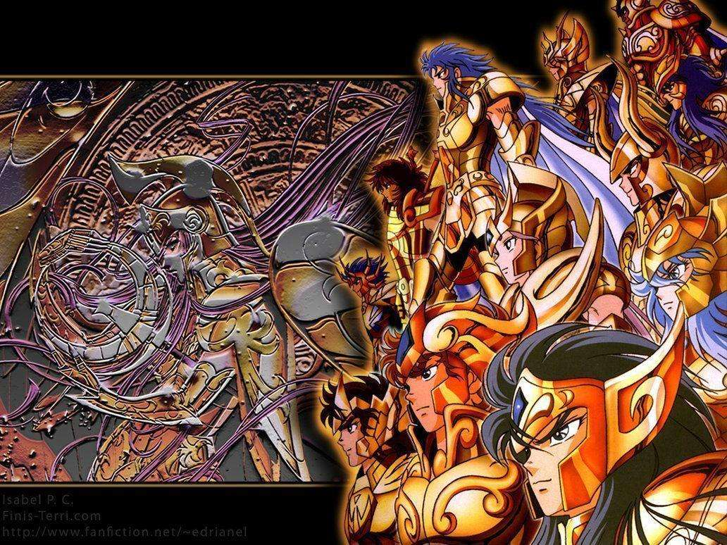 Saint seiya golds - Saint Seiya Golds - gouden ridders (14×11)