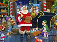 WORKSHOP SANTA CLAUS