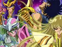 Saint Seiya Bronze gold