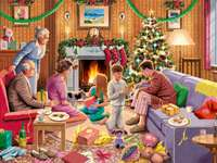 family holidays - family holiday with gifts