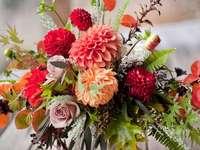 Gartenblumen in einem Blumenstrauß - m /................../