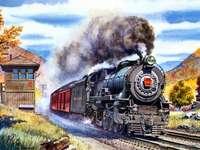 ett passerande tåg - m /................../