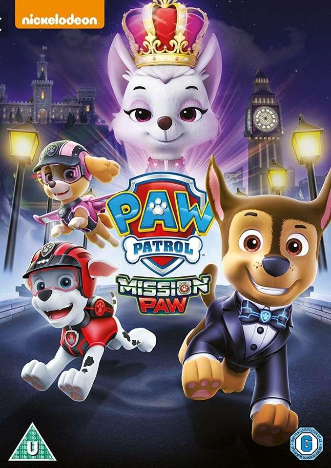Paw Patrol   Mission Paw - Paw Patrol   Mission Paw Puzzle (6×9)