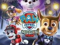 Paw Patrol | Misja Paw - Psi Patrol | Puzzle Mission Paw