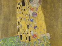 The golden kiss - Best known painting by Gustav Klimt