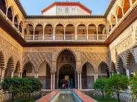 Palazzo del cortile interno di Siviglia - Palazzo del cortile interno di Siviglia
