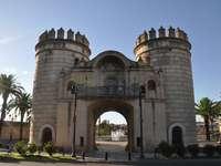 Porte de la vieille ville de Badajoz Espagne - Porte de la vieille ville de Badajoz Espagne