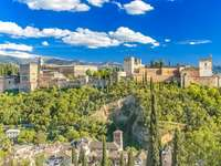 Granada Alhambra Hiszpania - Granada Alhambra Hiszpania