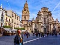 Murcias katedral Spanien