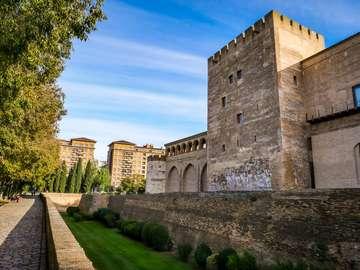 Saragossa Stadt in Spanien