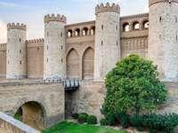 Miasto Saragossa w Hiszpanii