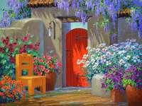 Casa de pintura no quente sul - Casa de pintura no quente sul