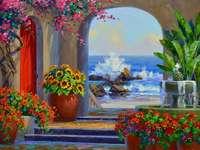 Festőház a meleg délen - Festőház a meleg délen