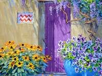 Maison de peinture dans le sud chaud - Maison de peinture dans le sud chaud