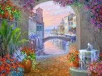 Pintura Grande Canal de Veneza - Pintura Grande Canal de Veneza