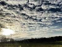 Vackra moln - Landskap av moln i Bulgarien.