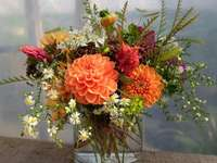 bouquet of garden flowers - m .....................