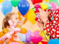 klaun na narozeninové párty - m ..........................